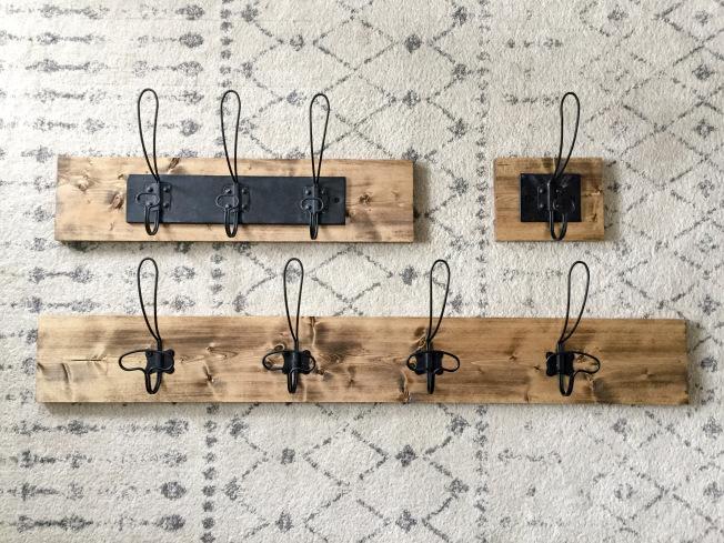 DIY Wall Hooks