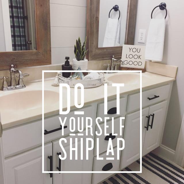 Shiplap + BathroomRedesign
